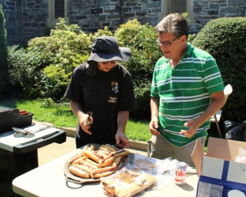 Roy & Will know how to BBQ